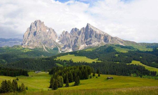 Confinböden und Murmeltierhütte