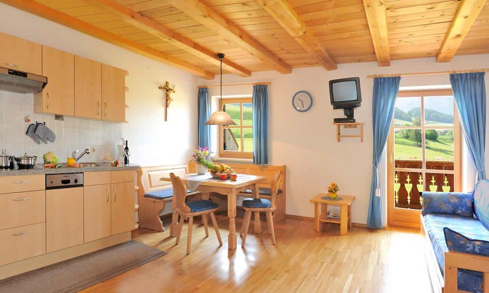 Service in den Ferienwohnungen in Kastelruth