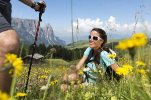 Excursions, hiking and climbing on the Alpe di Siusi 4